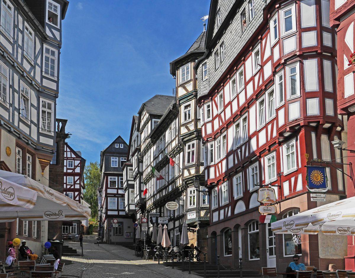 Marburg Old Town, Marburg, Germany