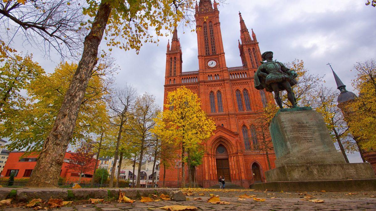 Market Church, Wiesbaden, Germany