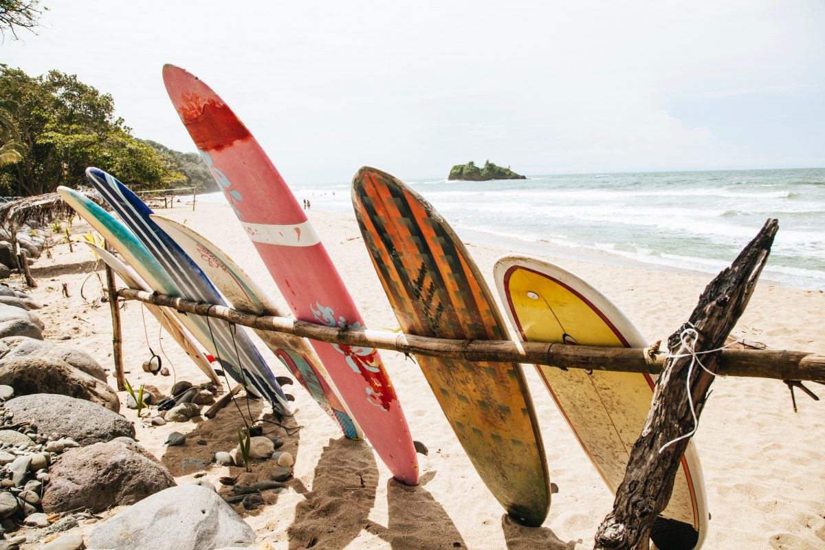 Costa Rica Surfing