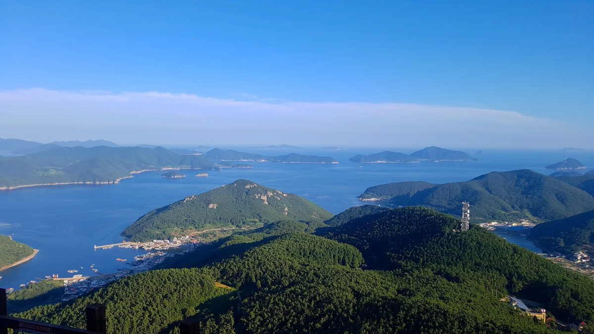Islands around Tongyeong