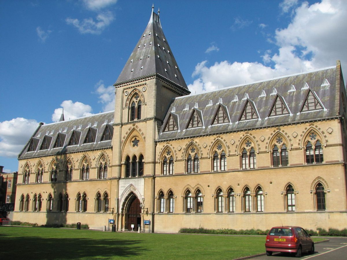 Mighty Oxford University Museum