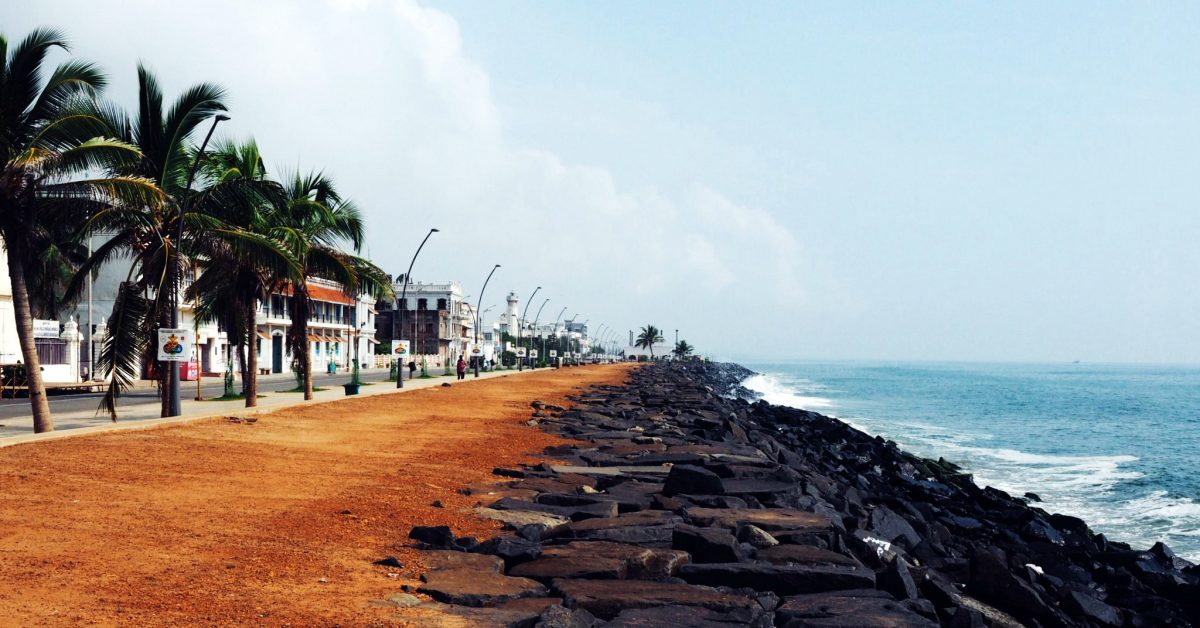 Pondicherry Rock Beach