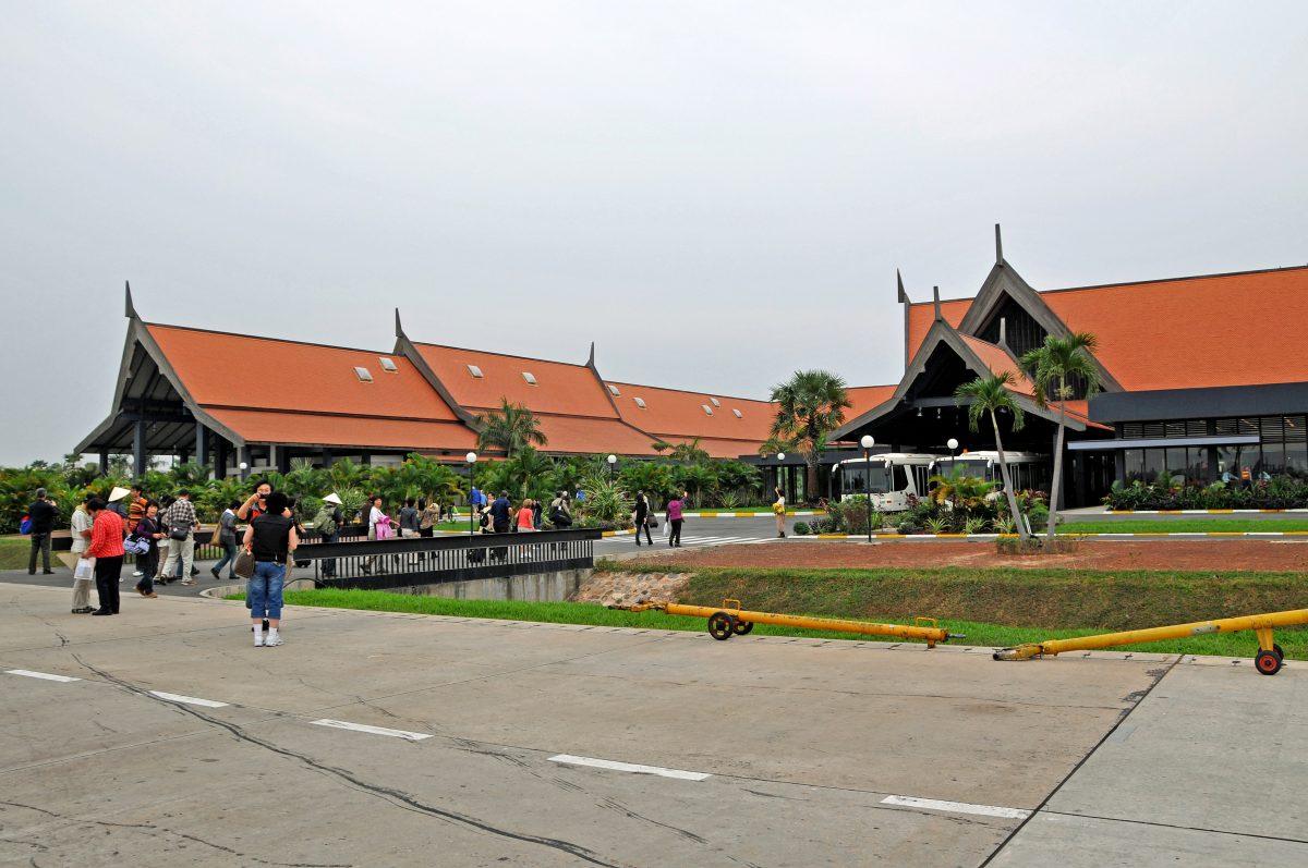 Siem Reap-Angkor International Airport, Siem Reap, Cambodia
