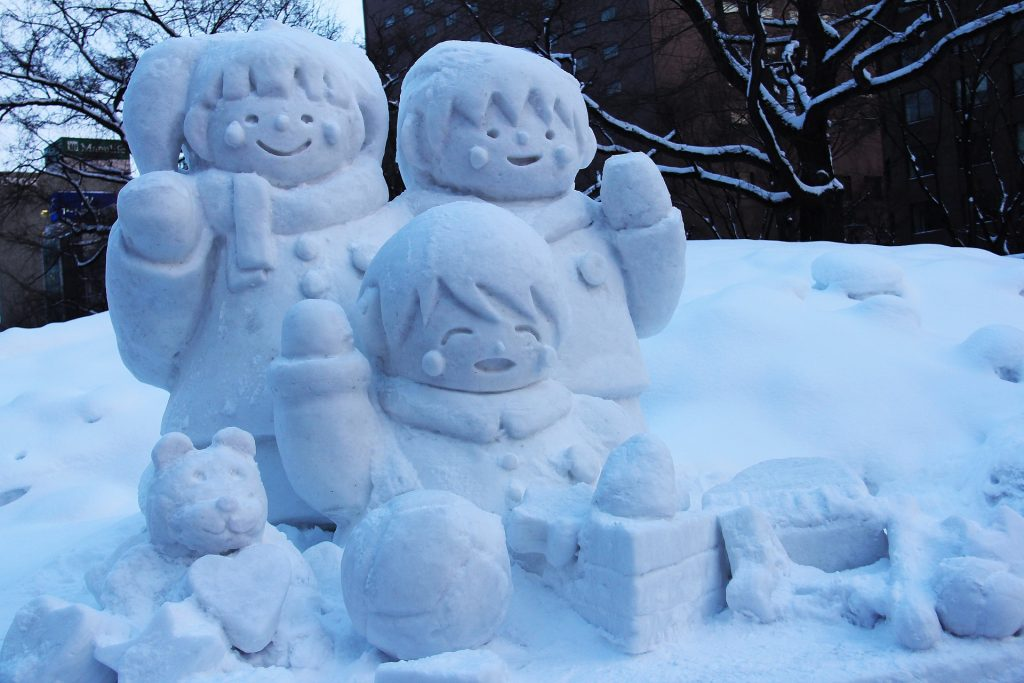 Sapporo, snow carving, winter festival
