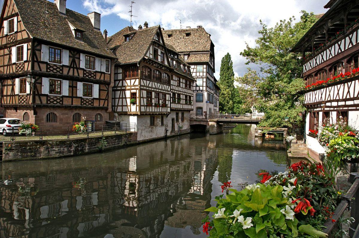 Strasbourg Petite France neighborhood