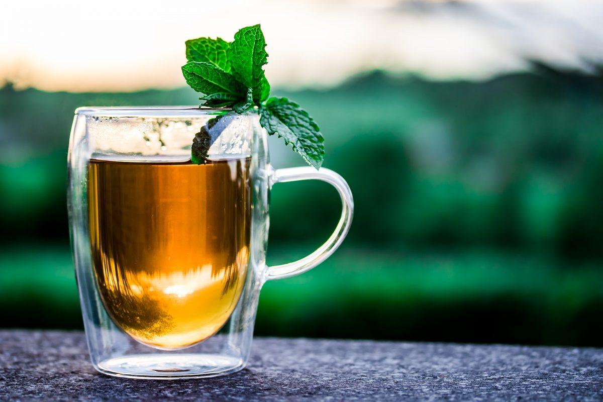 Darjeeling Tea (a cup with tea in it)