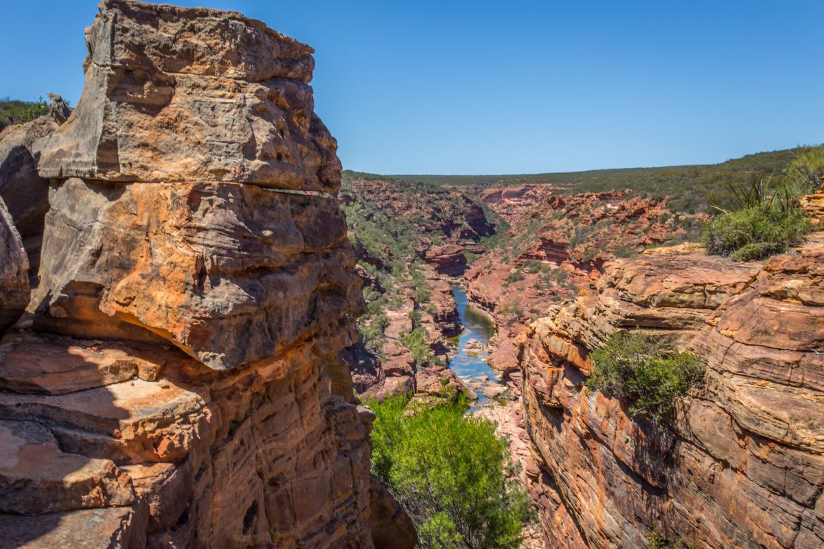 canyon, kalbarri national park