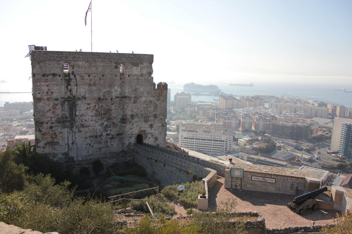 The fortifications that are known today as the Moorish Castle was first built in 1160.