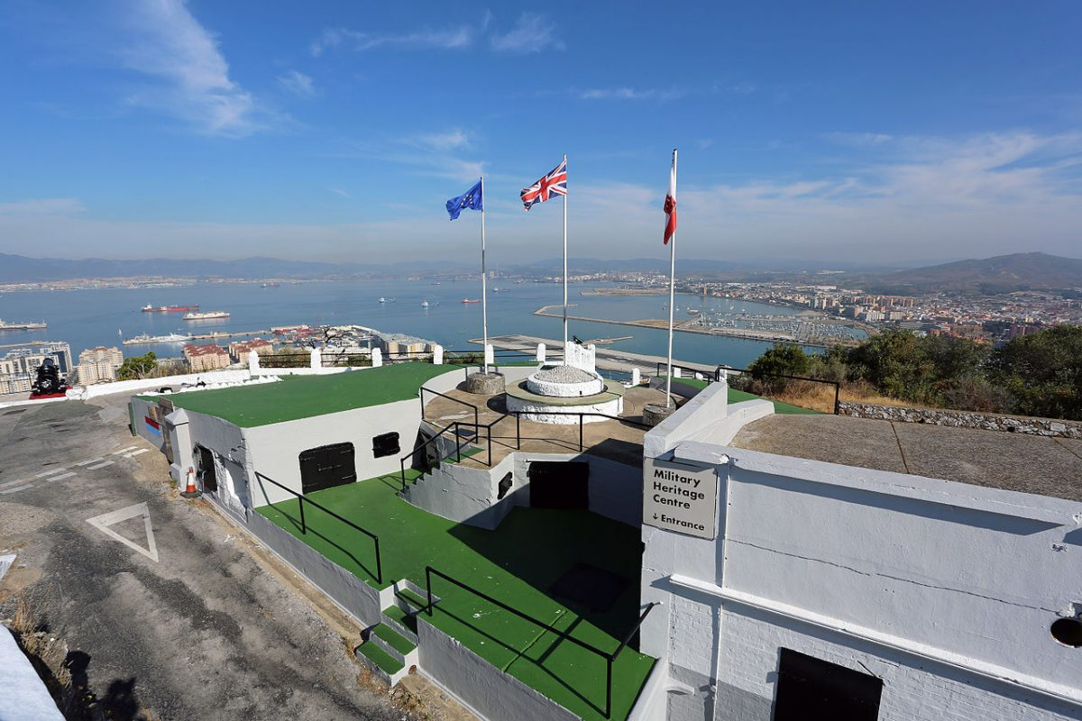 Gibraltar's Military Heritage Centre is located at Princess Caroline's Battery, a former artillery battery at the northern end of the Gibraltar Nature Reserve.