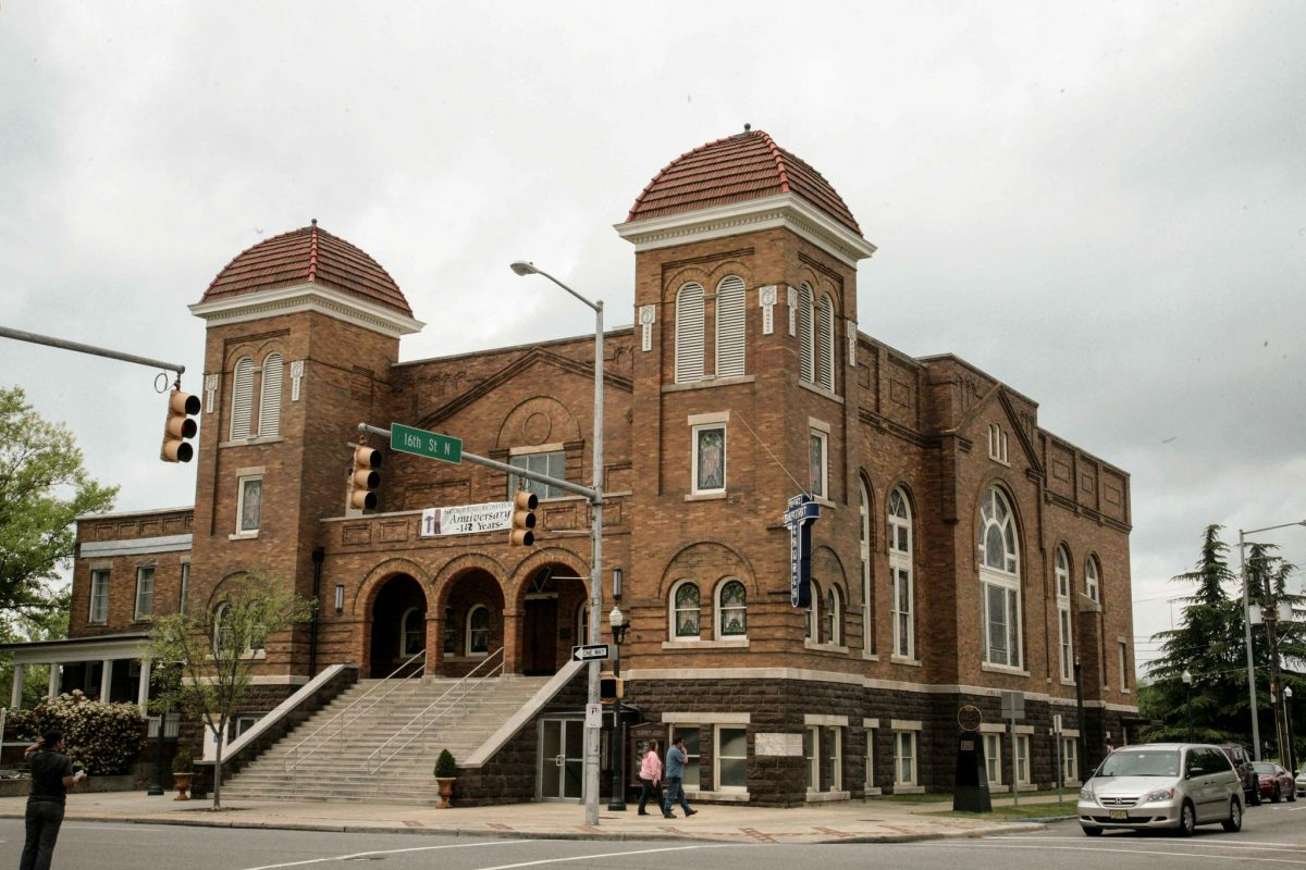 Birmingham's 16th Street Baptist Church is the first and oldest black church in Birmingham.