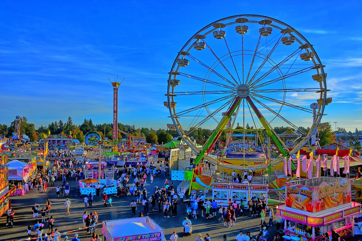 If you happen to go at the right time, you'll have a blast at the lively Oregon State Fair. You'll have a hard time deciding what you want to do or see at this fair as the choices seem limitless.