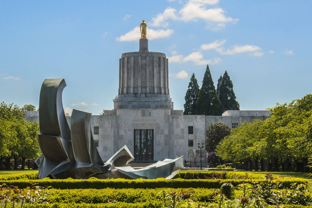 A trip to Oregon would not be complete without a visit to the Oregon State Capitol.