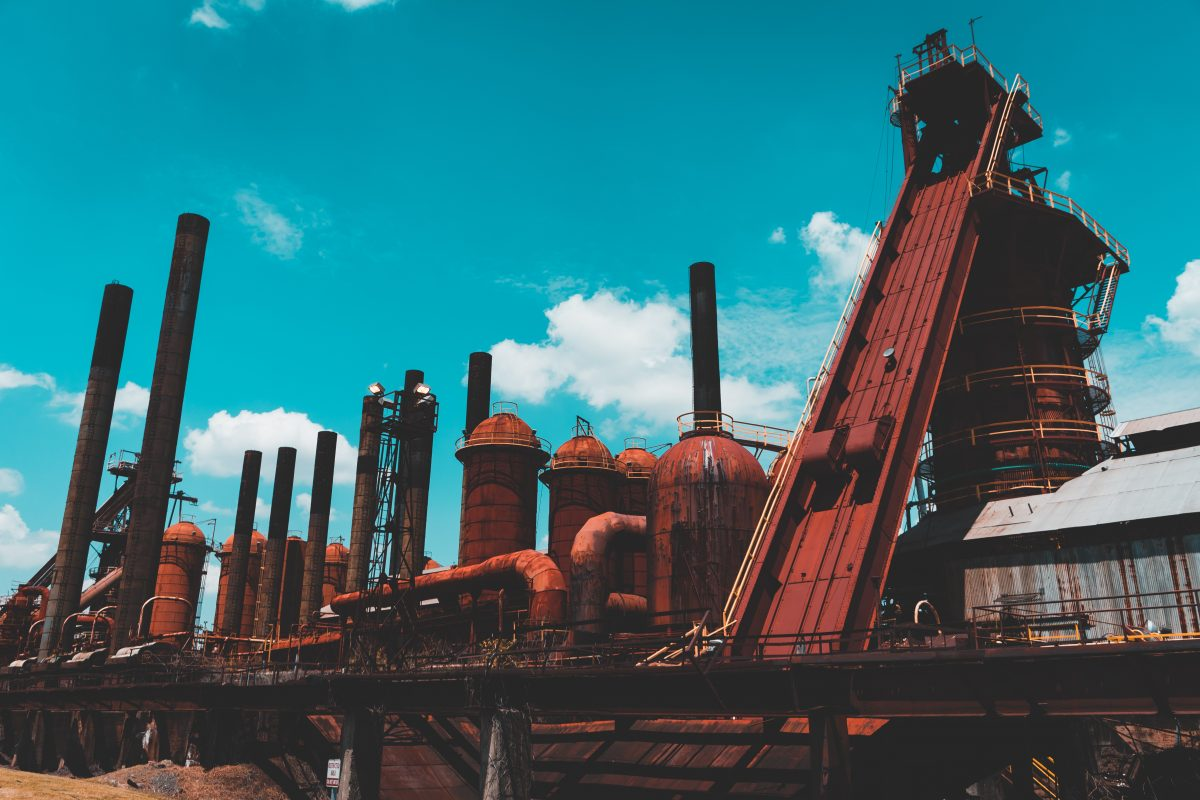 In the late 19th century, Sloss Furnaces produced more pig iron than any other place in the world until its closure in 1970.