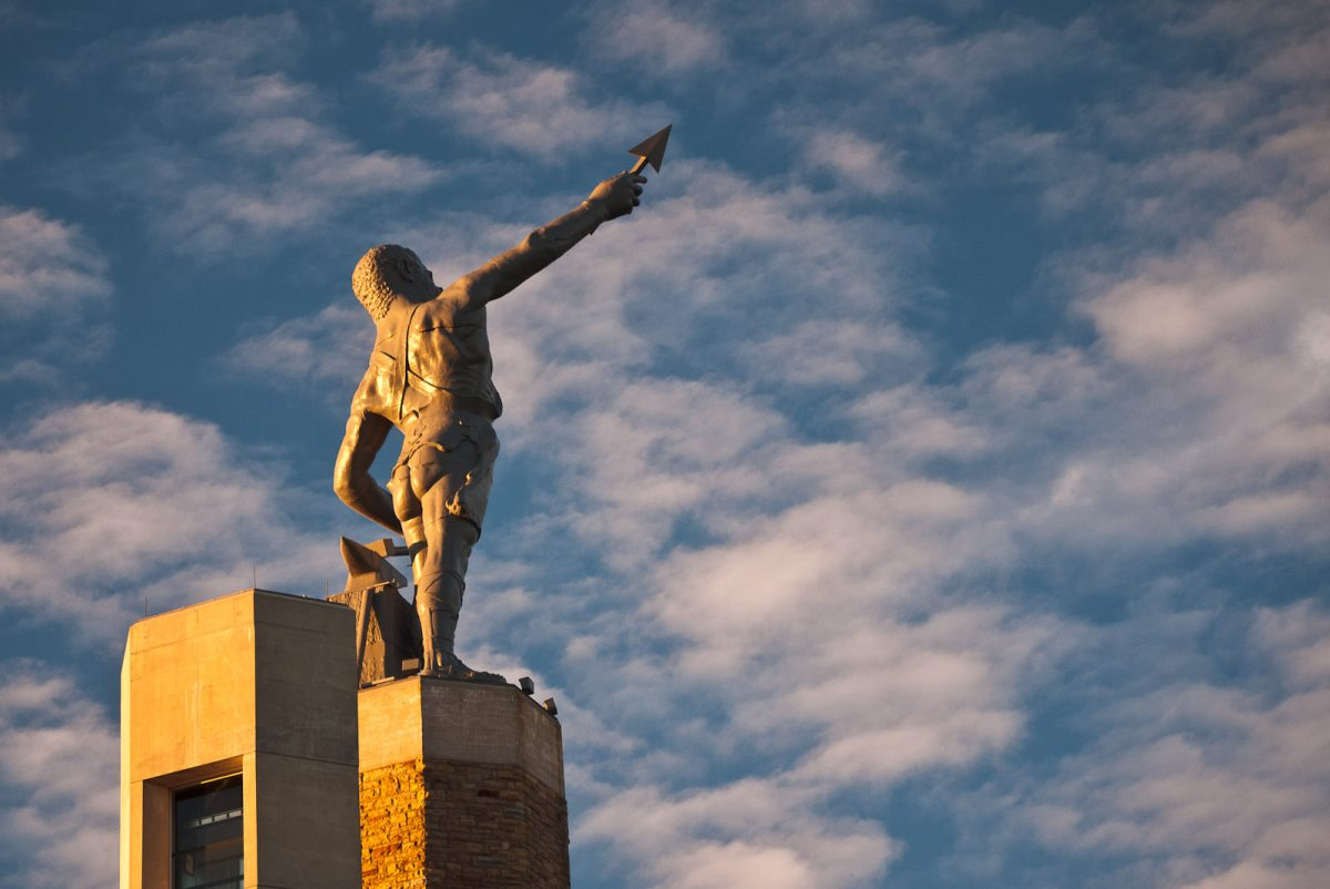 Vulcan Park and Museum is home to the largest cast-iron statue in the world.