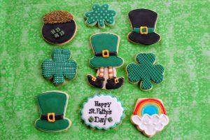 Irish cookies, St Patrick's Day cookies, Irish desserts