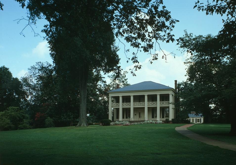 The Arlington Antebellum Home and Gardens is a former plantation house.