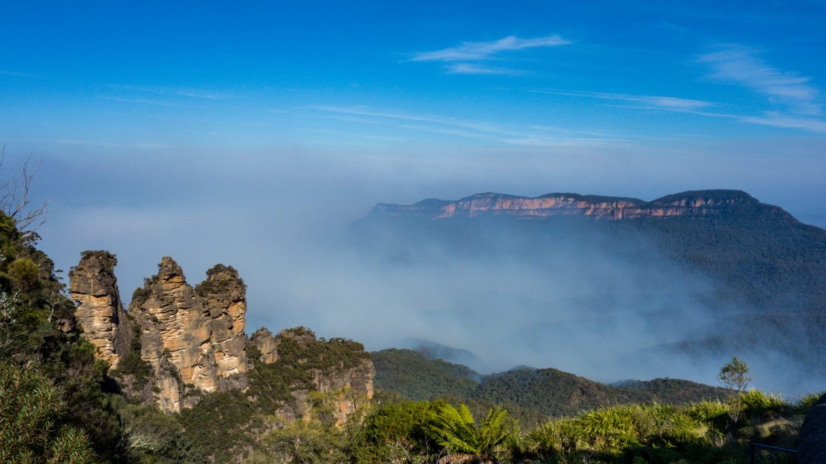 Early morning hike at Blue Mountains National Park, Australia