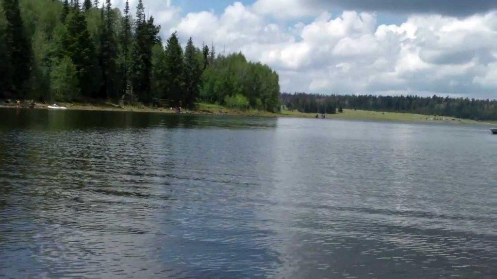 big lake, eagar