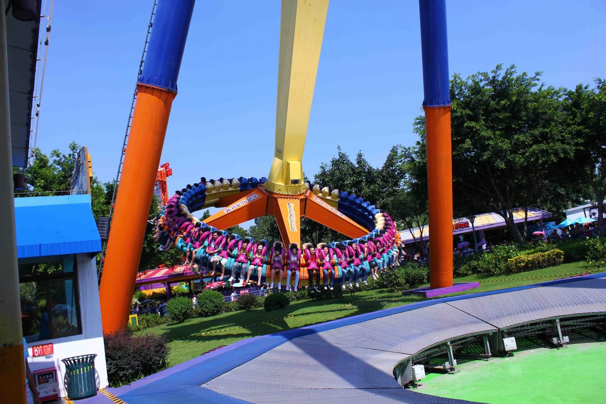 Comprising of a series of theme parks, a safari park and a water park, Chimelong Paradise is sometimes considered as the Chinese equivalent of Disneyland.