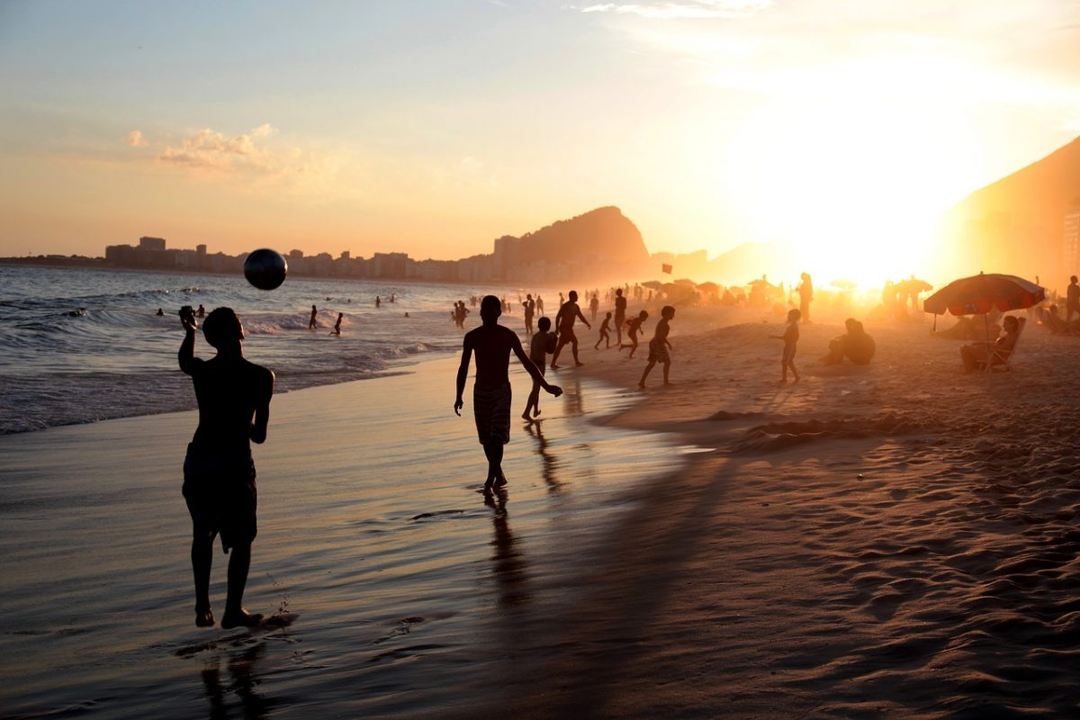 One of the world's most famous beaches, Copacabana Beach is one of Rio de Janeiro's many symbols.
