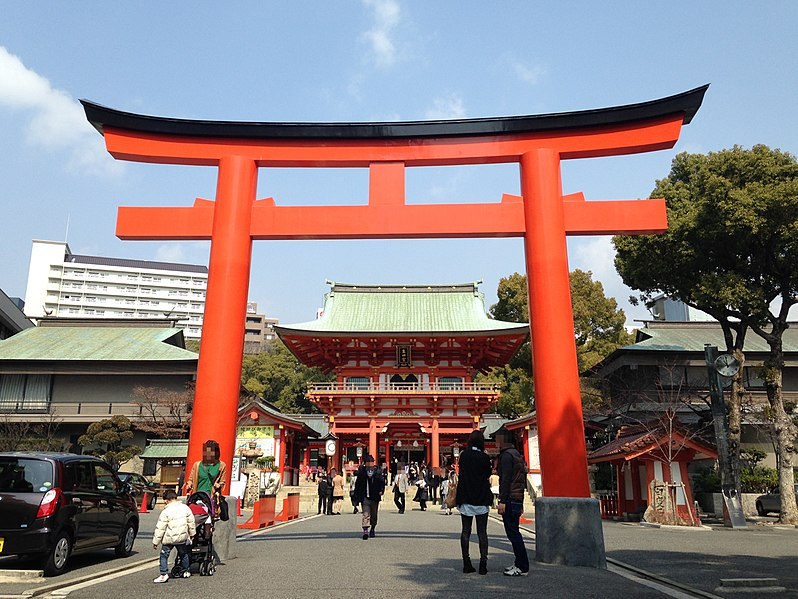 Ikuta Shrine by fxnn for WikiCommons - 15 Things To Do In Kobe, Japan
