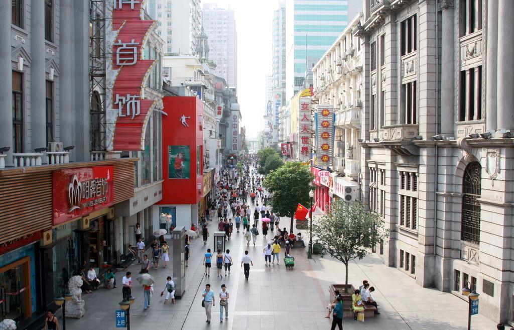 jianghan street, wuhan