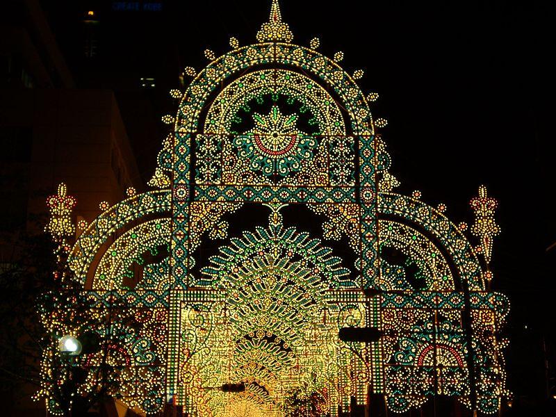 Kobe Luminarie by Takuya Ichihara for WikiCommons - 15 Things To Do In Kobe, Japan