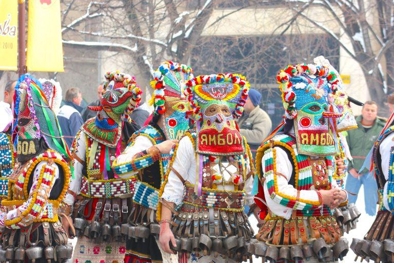 Kukeri Festival in Yambol