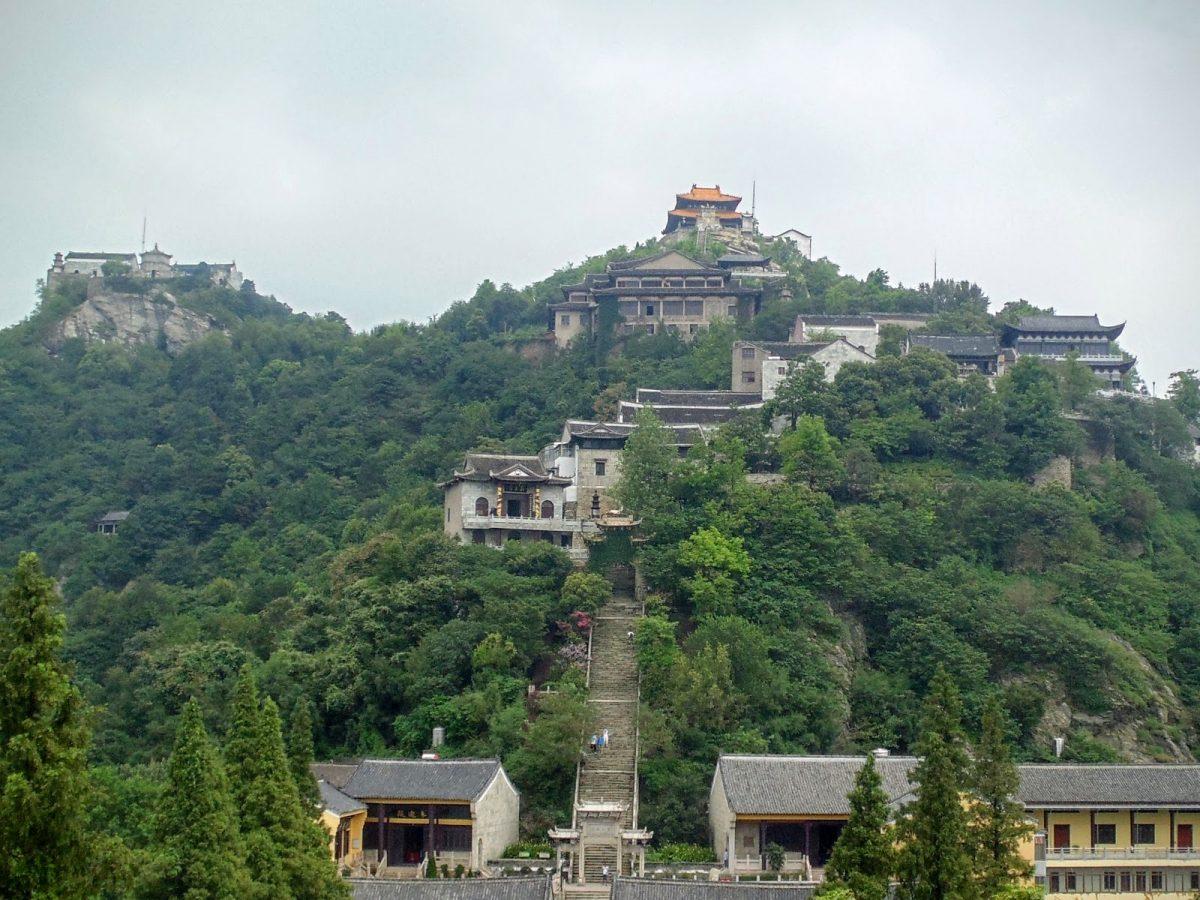 mulan mountain, wuhan