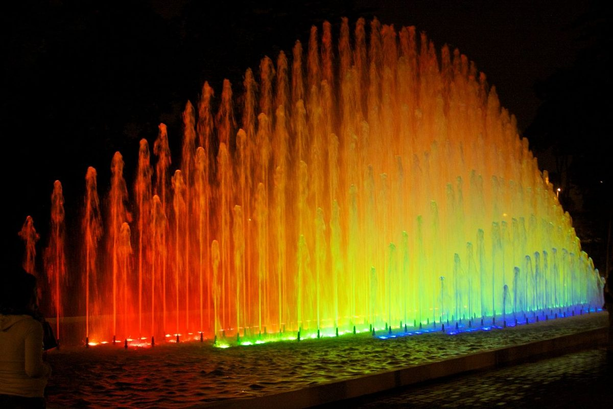 One of the most popular attractions in Lima, the Magic Water Tour had its inauguration in 2007.