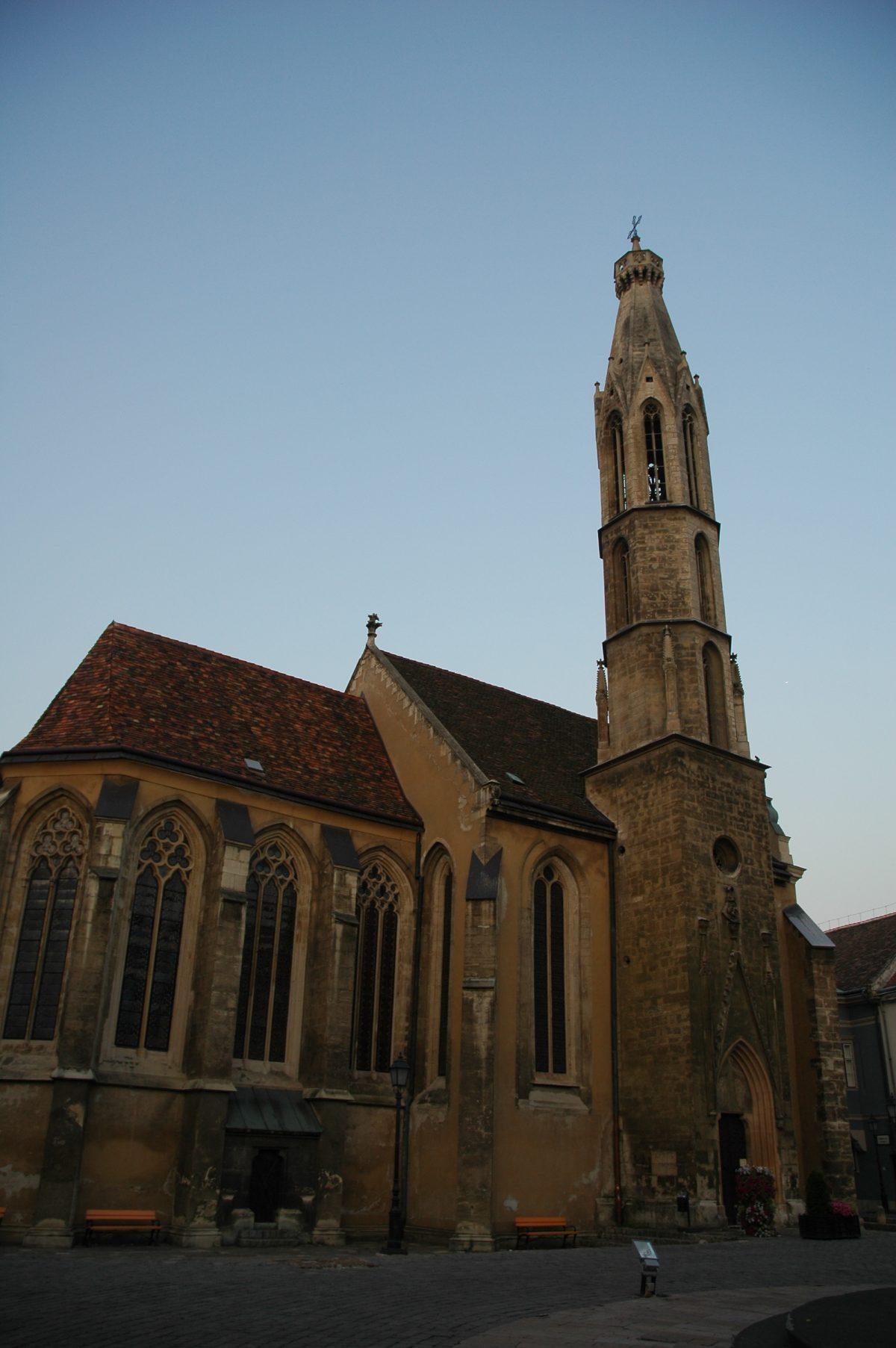Goat Church in Sopron