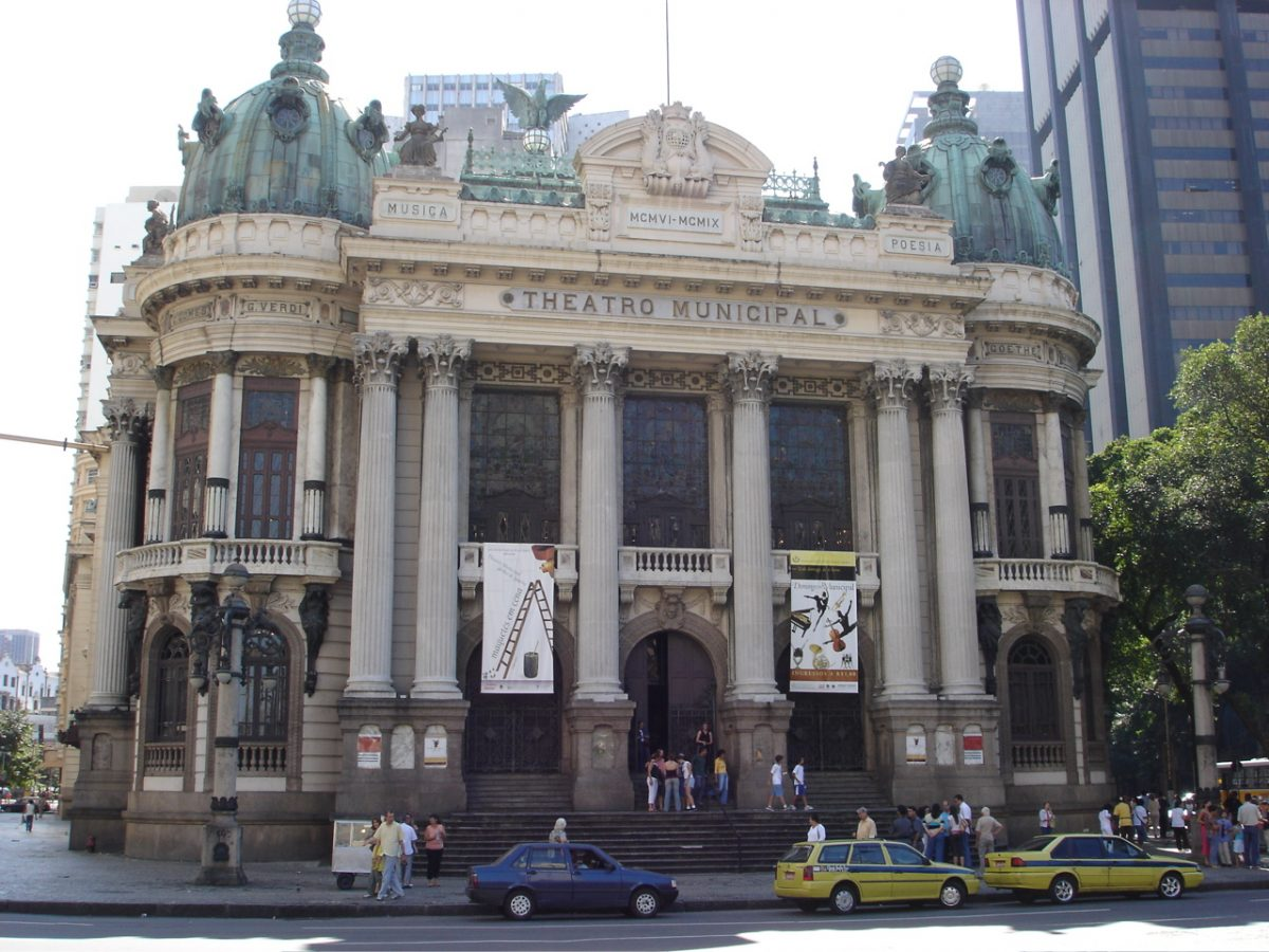 Located in the Centro district of Rio de Janeiro, near the National Library and the National Fine Arts Museum, Theatro Municipal is one of the most beautiful theatres in Brazil.