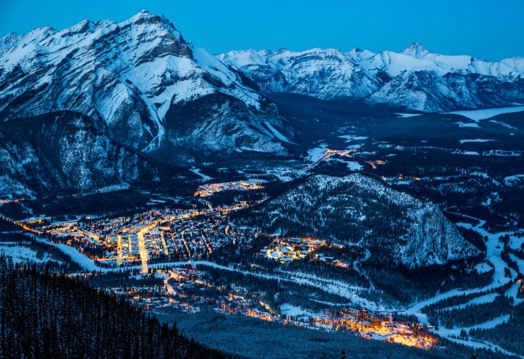Town 1 1 1024x703 - Best Things To Do In Banff On A Day Trip