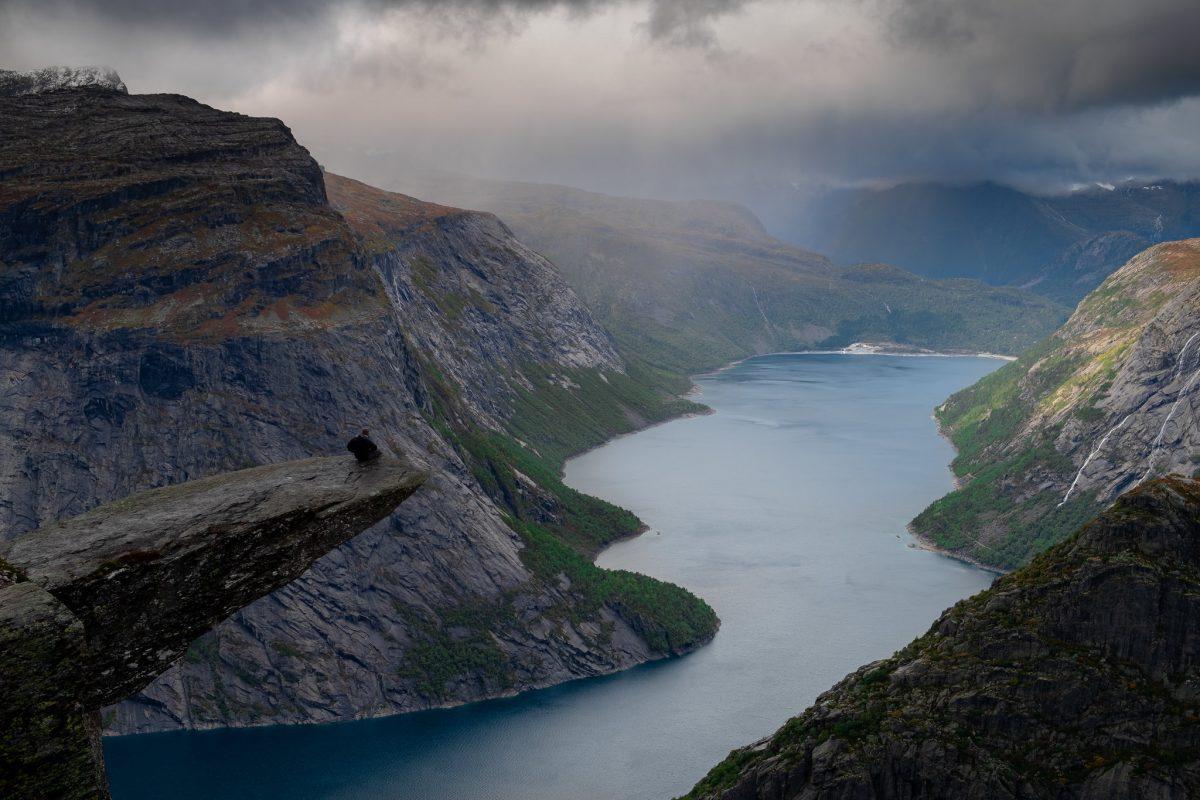 mountain, hordaland