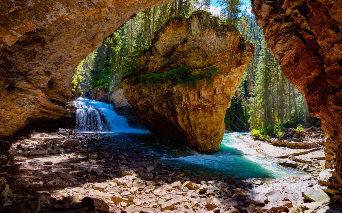 Waterfalls 1 - Best Things To Do In Banff On A Day Trip