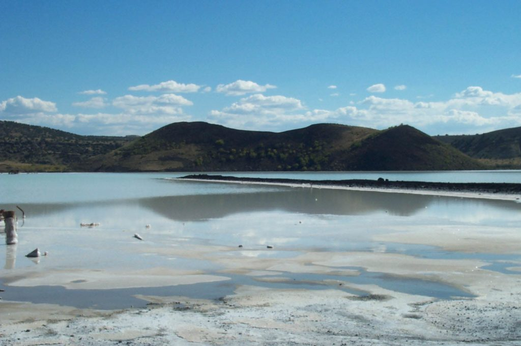 zuni salt lake, eagar