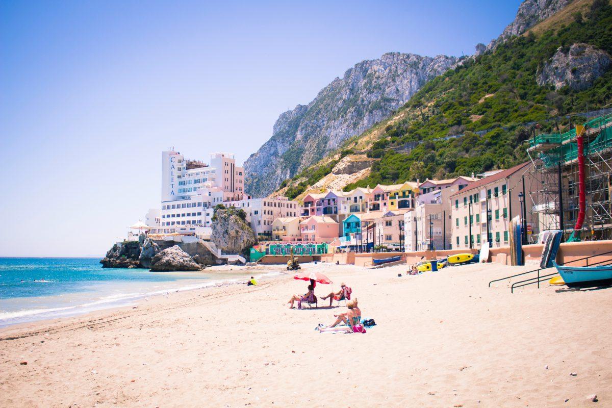 Despite Gibraltar being a small area, several beaches can be found along its short shore.