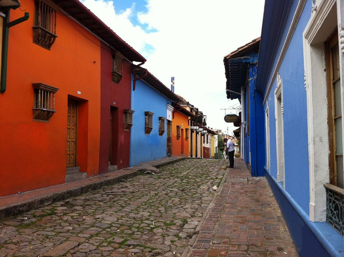La Candelaria is the name of Bogota's historic centre. It's famous for its Spanish Colonial, Baroque, and Art Deco styles of architecture.