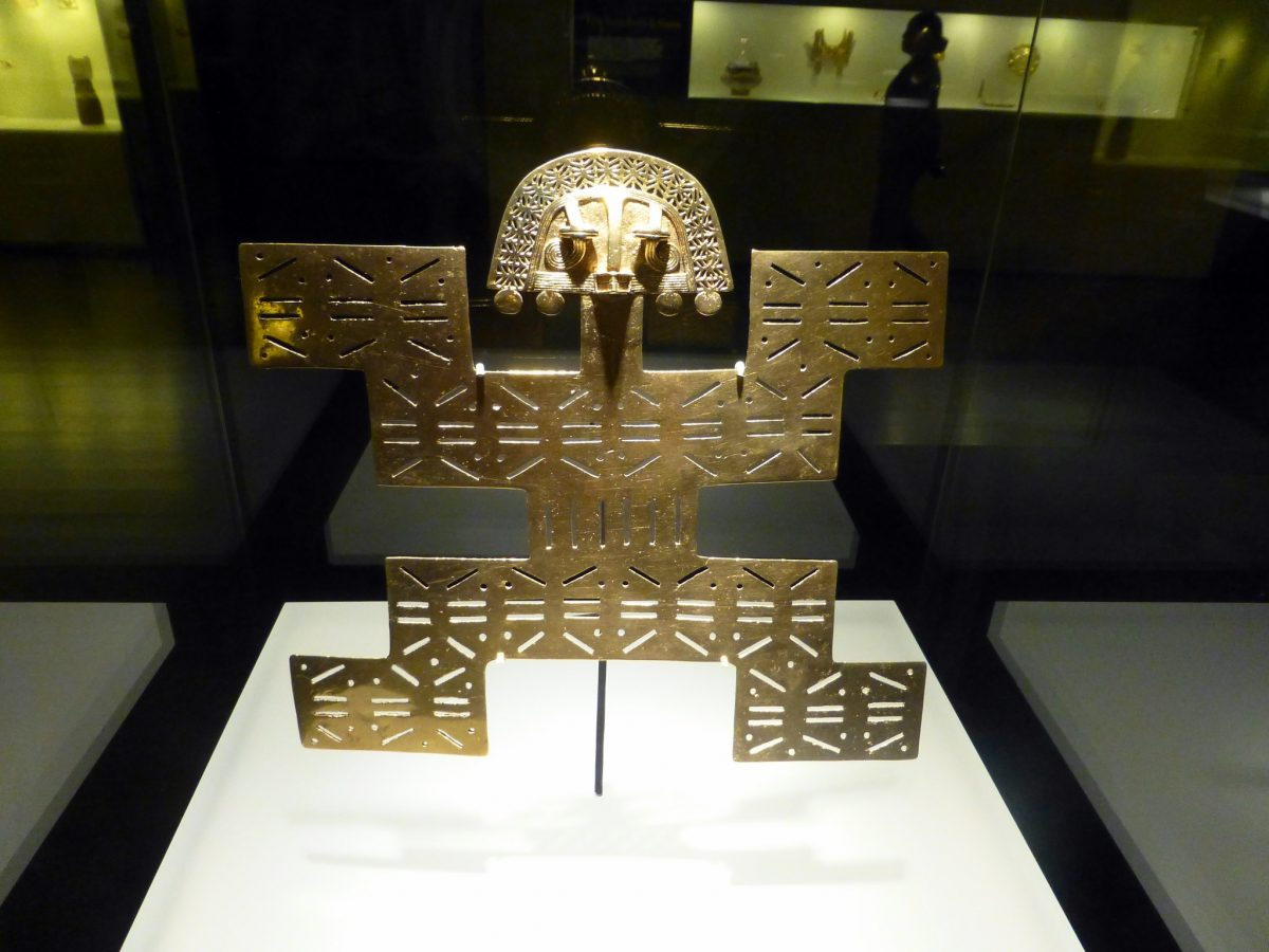 One of the most visited sites in Bogotá, the Museum of Gold displays an astonishing collection of pre-Columbian gold and other metals.