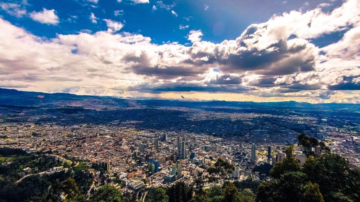 The Skyline of Bogotá