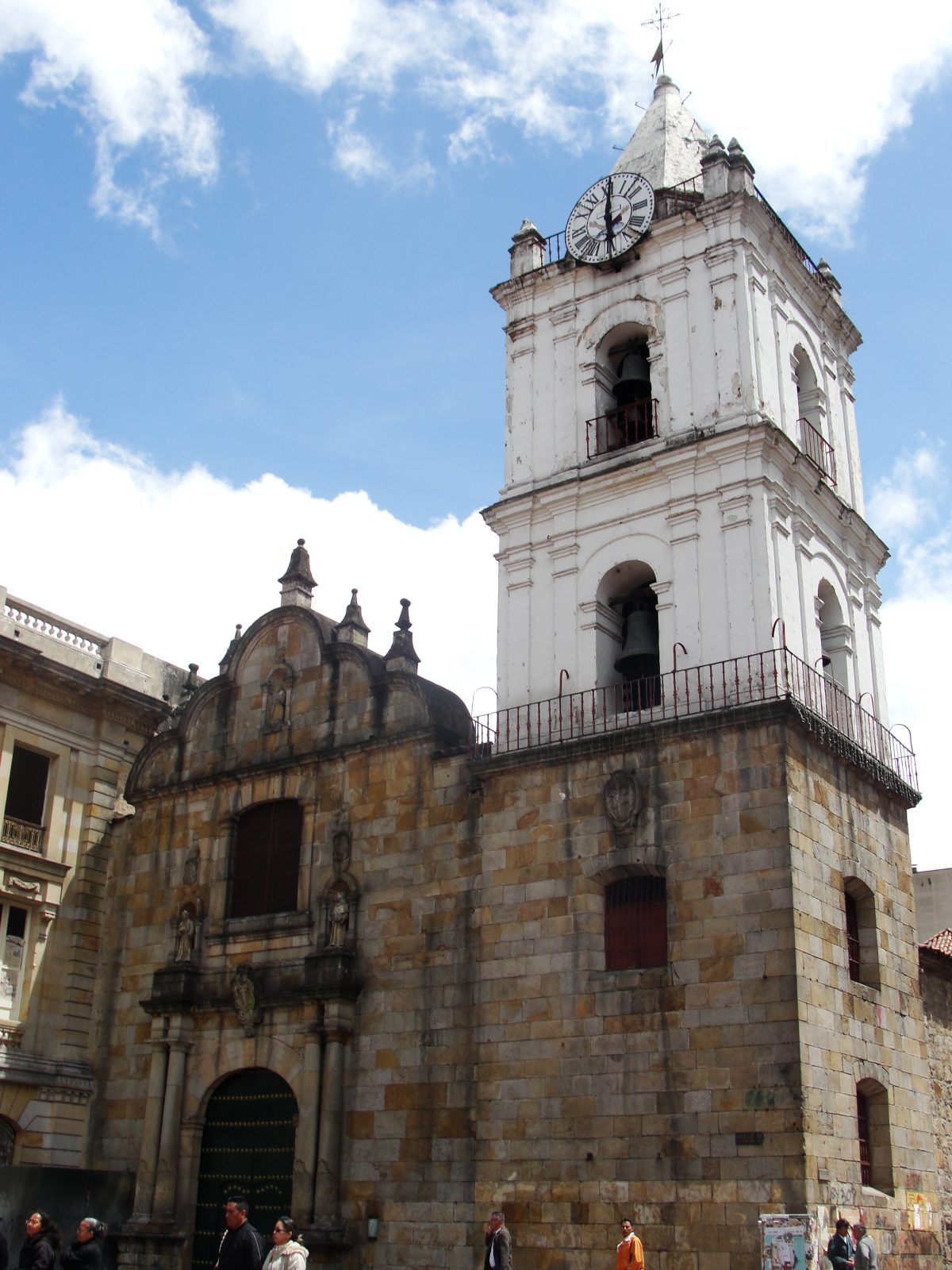 Built in the second half of the 16th century, Iglesia de San Francisco is Bogota's oldest church.