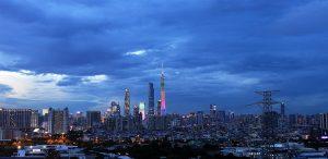The Guangzhou Skyline
