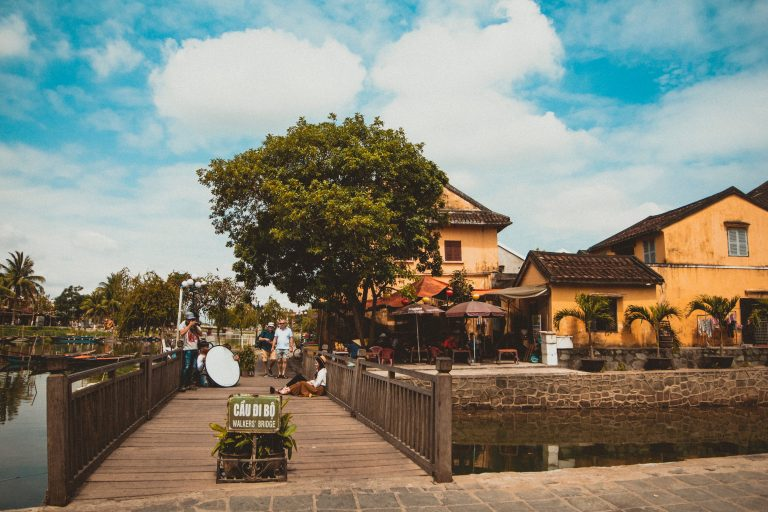 Hoi An old city in vietnam