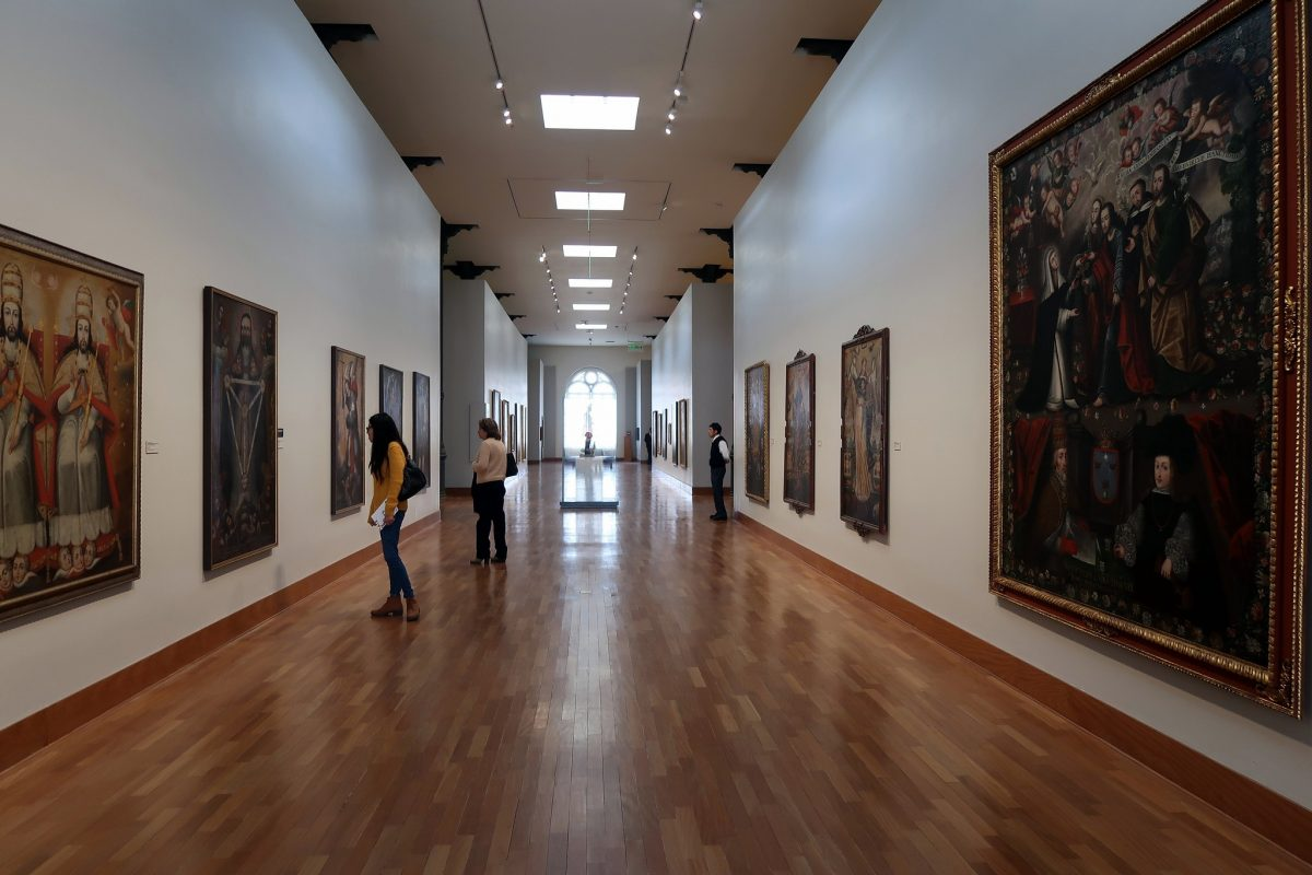 Lima Art Museum, known locally as MALI, is located in the Palacio de la Exposición and was first opened in 1961.