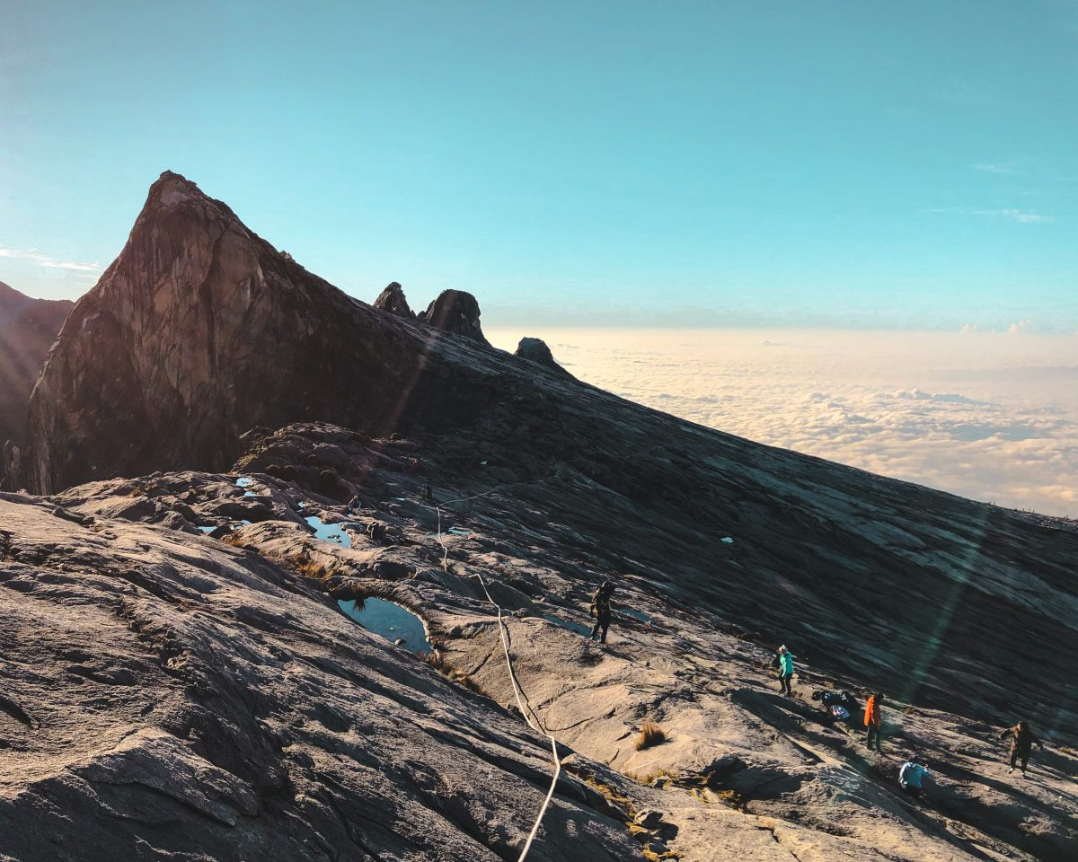 Mount Kinabalu hiking