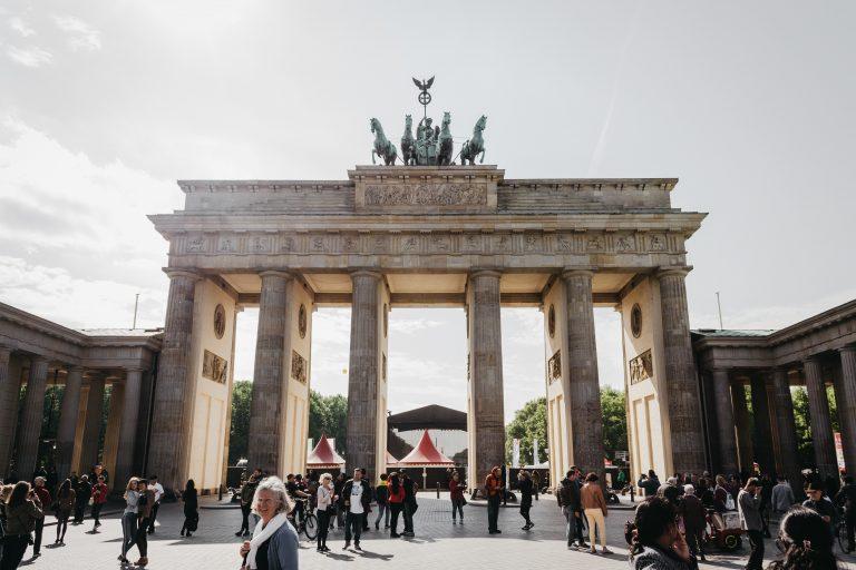 The Berlin's Brandenburg Gate