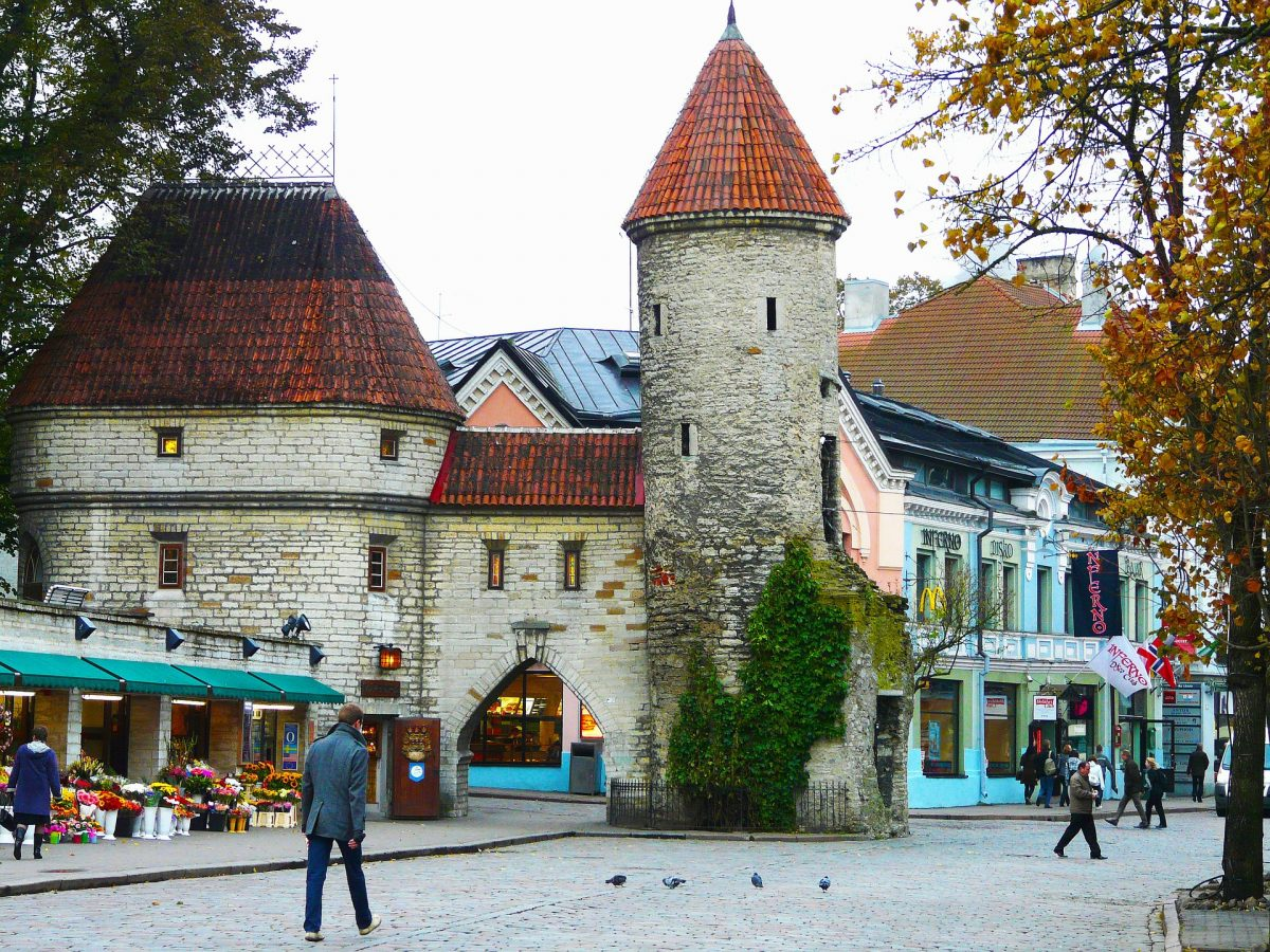 The Old Town was built between the 13th and 16th centuries when Tallinn was a trading centre.