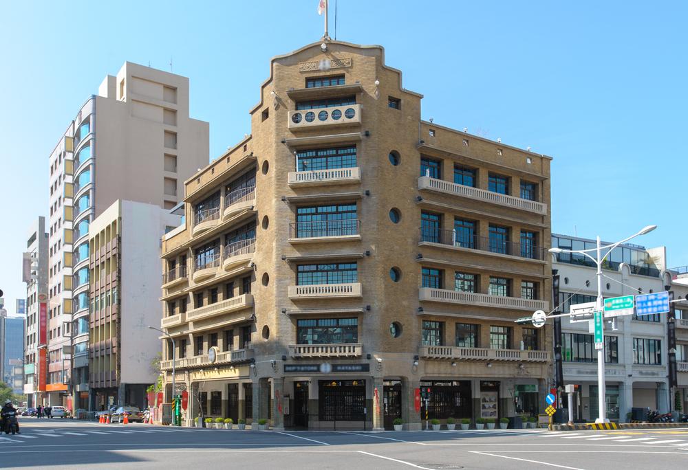 Japanese Hayashi Department Store in Tainan