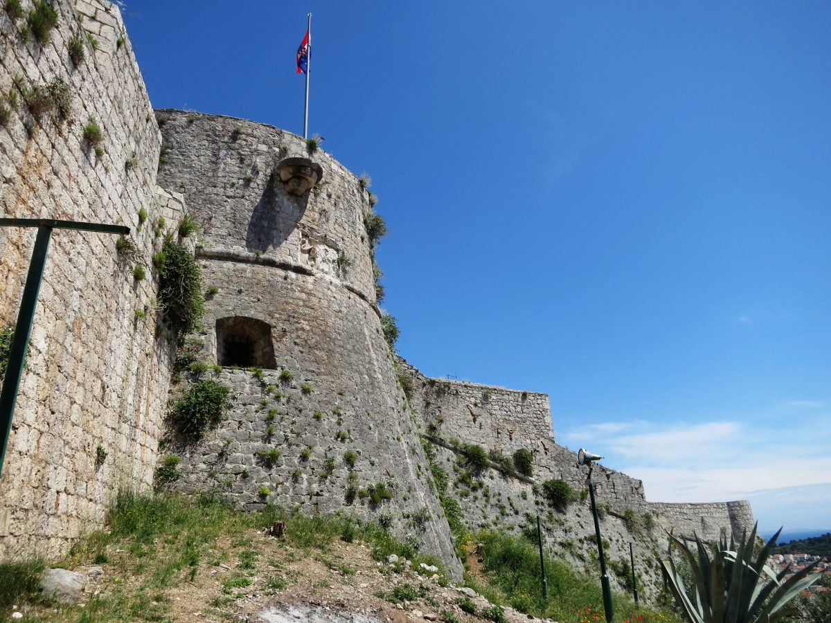 Spanjola Fortress, Hvar, Croatia