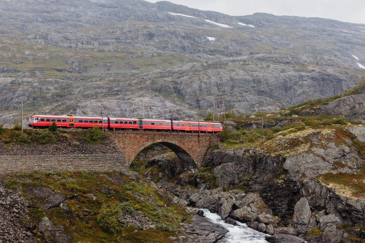 train, hordaland
